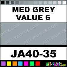 med grey value 6 traditions acrylic paints ja40 35 med grey