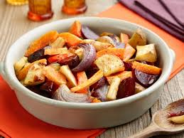 oven roasted root vegetables recipe food network kitchen food