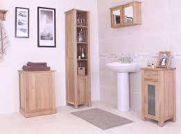 Freestanding Bathroom Furniture Uk Bathroom Shelves Standing Bathroom Furniture Oak Storage Shelves