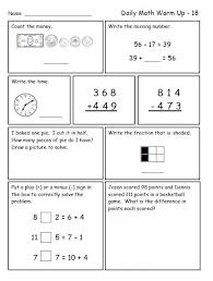 collections of third grade math review worksheets wedding ideas