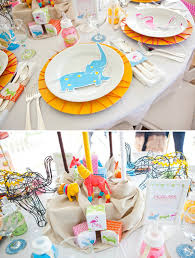Safari Baby Shower Centerpiece by Sunshine Safari Baby Shower Table Operation Shower Hostess