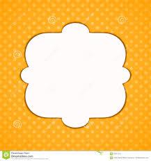 halloween polka dots border frame stock illustration image 92241218