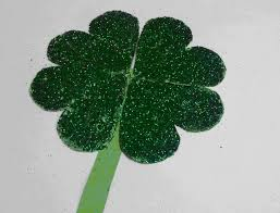 st patrick u0027s day four leaf clover craft scholastic