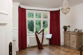 How To Hang Bay Window Curtains Bay Window Curtain Rod Lowes Dragon Fly