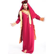 Alladin Halloween Costume Aliexpress Buy Men U0027s Medieval Monks Robe Aladdin