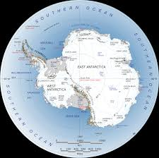 Map Of Tectonic Plates The Antarctic Region