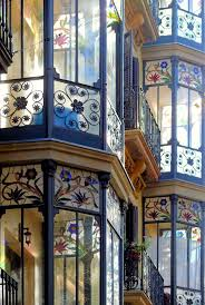 52 best house things doors windows hardware images on pinterest the matching stained glass windows and rich blue trim on all the windows is exquisite