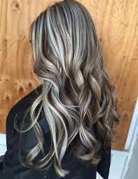 grey streaks in hair 40 ideas of gray and silver highlights on brown hair