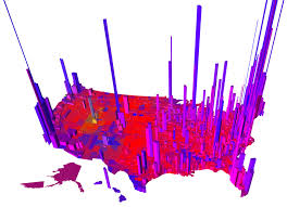 Presidential Election Map 2012 by 2016 Presidential Election Results