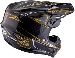 black motocross helmet troy lee designs se4 pinstripe carbon black motocross helmets troy