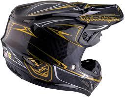 camo motocross helmet troy lee designs se4 pinstripe carbon black motocross helmets troy
