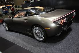 spyker spyker c8 preliator gets a new spyder version for geneva