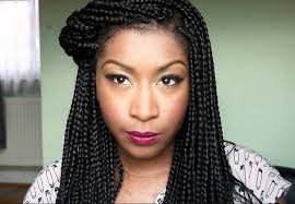 womens hairstyle the box style best box braids hairstyles for medium hair styles ideas 2244