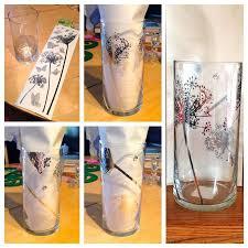 Dollar Store Cylinder Vases 55 Best Peinture Sur Verre Images On Pinterest Hands Stained
