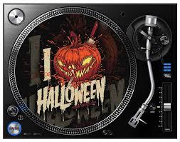 i love halloween turntable slipmat u2013 terrorthreads