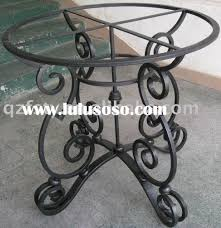 wrought iron pedestal table base wrought iron table base for sale price china manufacturer supplier