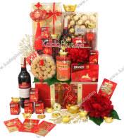 new year gift baskets lunar new year gift basket archives toko bunga online florist