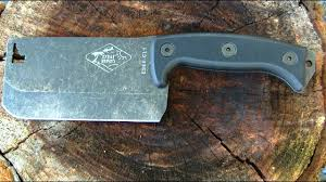 esee knives cl1 cleaver collaboration with expat knives youtube esee knives cl1 cleaver collaboration with expat knives