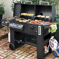 Backyard Bbq Grill Company Hybrid Grill Infrared Propane Gas And Charcoal Cooking System