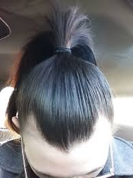 hair style wo comen receding 23f with a receding hairline more info in comments please help
