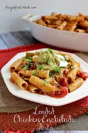 pasta dishes loaded chicken enchilada pasta delightful e made