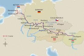 Passau Germany Map by 1 2017 Morris Murdock Private 2 Week Danube And Rhine River