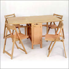 Space Saving Table And Chairs Gorgeous Folding Dining Table For - Foldable kitchen table