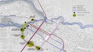 Buffalo Bayou Park Map Bydesign