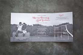 tri fold wedding invitations tri fold wedding invitation suite design fee only 2407936 weddbook