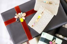 for the makers diy rhinestone embellished gift wrapping