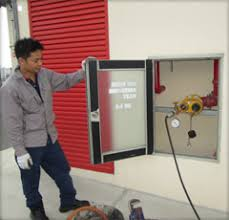 Dry Riser Cabinet Dry Riser Wet Riser System Fire Protection System Singapore