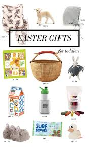 gift ideas toddler easter basket modern eve