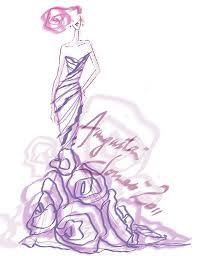 sneak peek designer runway sketches for fall 2012 wedding