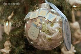 handmade holidays creating a baby keepsake ornament third stop