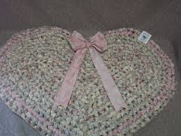 Pastel Rag Rug Heart Rectangle Rags 2 Rugs