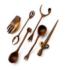 Wood Carving Kitchen Utensils by Witches U0027 Kitchen Utensils Foodiggity