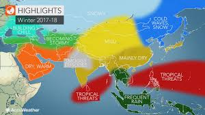 asia winter forecast life threatening flooding may unfold in