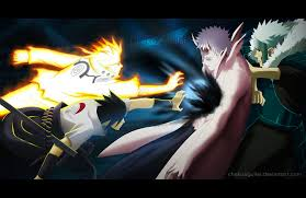 sasuke vs 641 and sasuke vs obito by chekoaguilar on