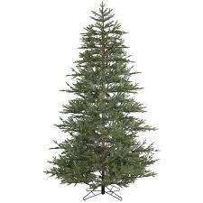 unlit christmas trees 7 5 foot unlit realistic christmas tree williamsburg pine