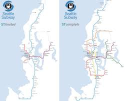 light rail map seattle how ambitious will seattle get with its transit expansion plan