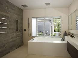 feature wall bathroom search small ideas mirrors pebble what to hang