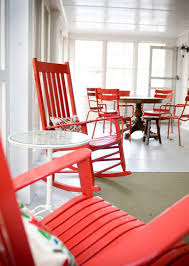 Red Rocking Chairs 22 Ideas For Home Decorating With Rocking Chairs