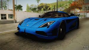 koenigsegg blue koenigsegg agera rs v1 for gta san andreas
