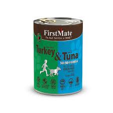 free run turkey wild tuna for dogs firstmate pet foods