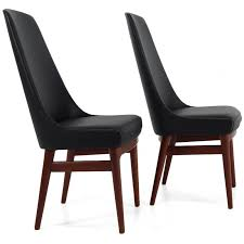 dossier de chaise paire de chaises scandinaves à haut dossier 1960 design market