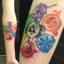 37 insane legend of zelda tattoos that deserve every rupee in