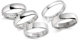 wedding quotes engraving wedding rings t a henn