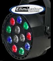 Eliminator Lighting Eliminator Lighting Par 38b Flood Par Can Stage Light