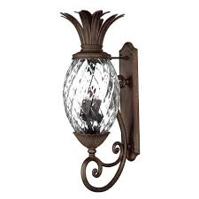 pineapple outdoor light fixtures tropical outdoor lighting bellacor pineapple outdoor light