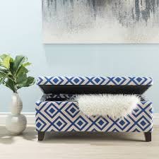 breanna floral fabric storage ottoman by christopher knight home breanna patterned fabric storage ottoman by christopher knight home